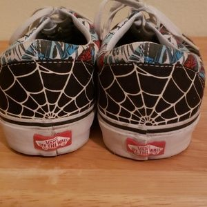 Van's marvel comics spiderman Mens size 11